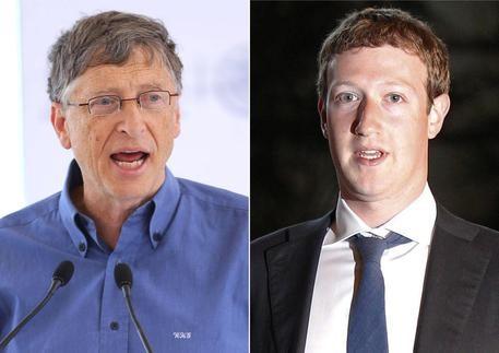 Zuckerberg con Gates per trovare cure