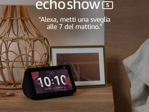Offerta su Echo Show 5