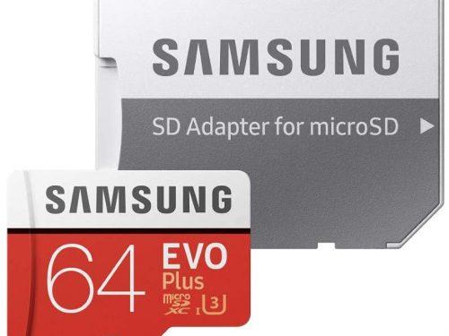 Micro SD Samsung 64Gb a soli 13,92€